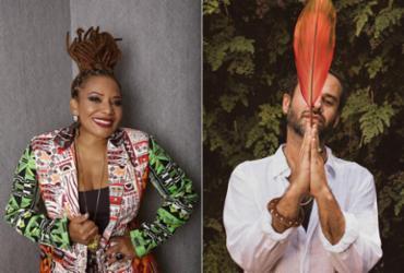 Com Margareth Menezes e Marcelo Jeneci, Mercado Iaô realiza edição especial online | Fernando Torquatto | Divulgação e Bispo | Divulgação