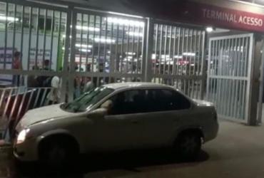 Motorista de aplicativo atropela duas mulheres após ser baleado em Salvador | Reprodução