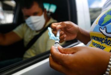 Oito mil vagas para agendamento da 2ª dose da CoronaVac são preenchidas em meia hora | Rafael Martins | Ag: A TARDE | 4.5.2021