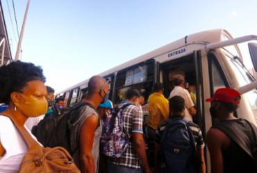 Rodoviários antecipam fim de paralisação e ônibus voltam a rodar em Salvador | Olga Leiria Ag A TARDE