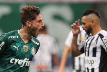 Palmeiras vence o Santos e continua vivo no Paulistão | Cesar Greco | SE Palmeiras