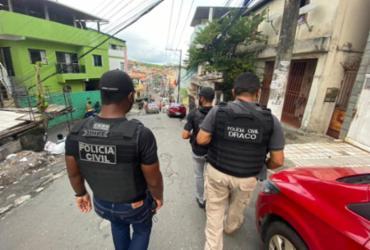 Polícia realiza investigações em Pernambués | Divulgação | Polícia Civil