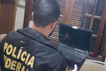 PF cumpre mandado em Salvador contra acusado de compartilhar conteúdos de pedofilia | Divulgação | PF | Ilustrativa