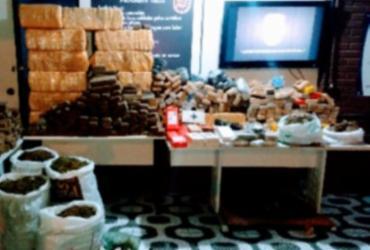 Além da droga, os militares apreenderam também 50 kg de cocaína, 8 kg de pasta base de cocaína e uma balança I Foto: Divulgação I SSP - Divulgação I SSP