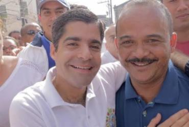 Prefeito de Camaçari declara apoio a ACM Neto para governador da Bahia   Divulgação   Foto tirada antes da pandemia
