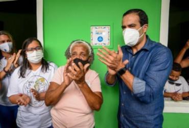Prefeitura entrega reforma de 100 casas em Pau da Lima | Betto Jr | Secom PMS
