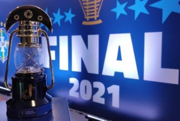 Copa do Nordeste divulga imagens do prêmio 'Lampião de Ouro' | Reprodução | Twitter
