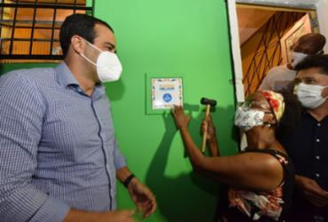 A região já possui 465 imóveis alcançadas por meio do programa 'Morar Melhor' | Foto: Valter Pontes | Secom - Valter Pontes | Secom