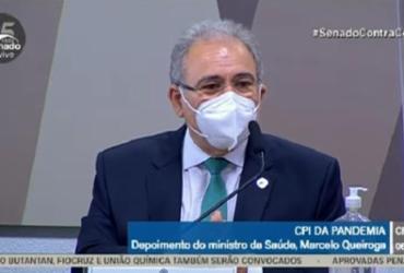 Queiroga se esquiva de perguntas sobre cloroquina e políticas de Bolsonaro e irrita membros da CPI |