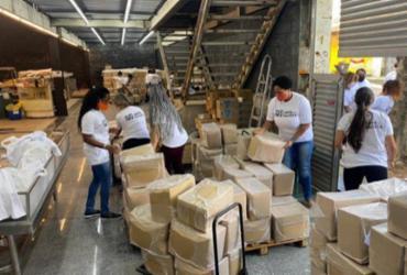 No Dia da Abolição, Frente Nacional Antirracista faz doações de cestas básicas | Divulgação
