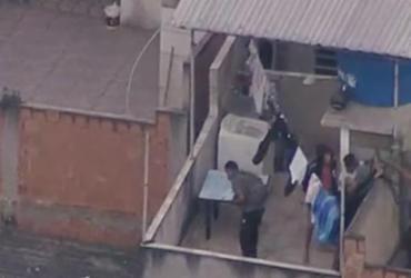 Policial civil e 14 suspeitos morrem em operação no Rio; 2 são baleados no metrô | Reprodução | TV Globo