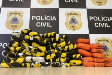 Polícia apreende mais de 50 kg de skunk em galpão de transportadora