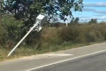 Radares instalados nas rodovias de Anagé e Tanhaçu são destruídos por vândalos