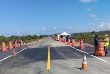 BA-099: Km 82 tem tráfego liberado nos dois sentidos | Divulgação