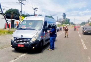 Operação de combate ao transporte clandestino resulta em 20 veículos apreendidos | Divulgação