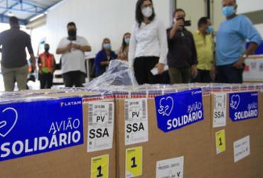 Primeira remessa para a Bahia tem 26.910 doses   Foto: Camila Souza   Gov-BA - Camila Souza   GOV BA