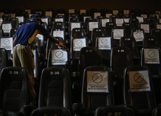 Clubes sociais e cinemas de Salvador já podem reabrir ao público a partir desta quinta | Raphaël Müller | Ag. A TARDE