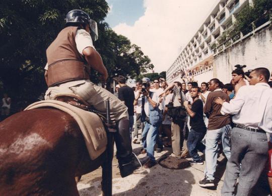 Repressão a estudantes em invasão do campus da Ufba completa 20 anos | Carlos Casaes | Cedoc A TARDE | 16.5.2001