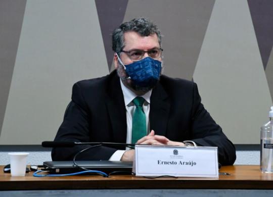 CPI da Covid: ex-chaceler diz que orientações para o Itamaraty vieram do Ministério da Saúde | Agência Brasil