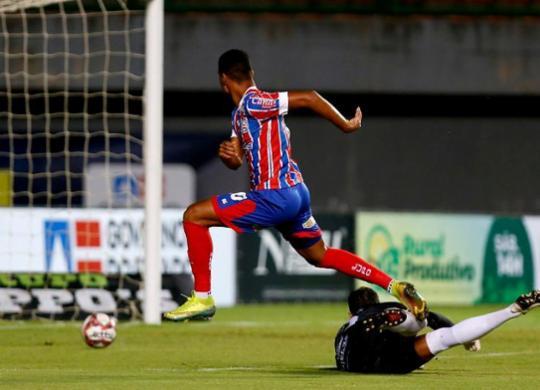 Bahia vence o Jacuipense em Pituaçu e garante classificação na semifinal | Felipe Oliveira | EC Bahia