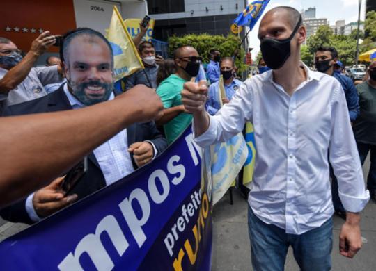 Bruno Covas, o prefeito que lutou contra o câncer e o coronavírus | NELSON ALMEIDA / AFP