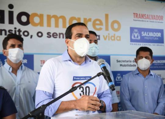 Bruno Reis anuncia prorrogação de medidas restritivas até dia 22 em Salvador | Betto Jr/ Secom