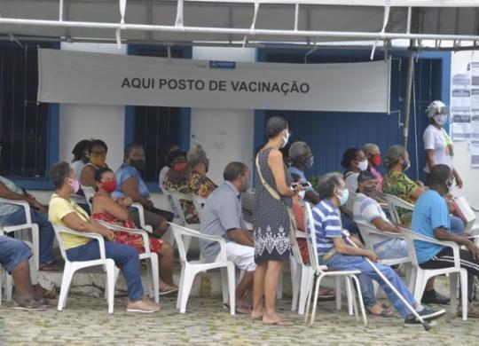 Salvador inicia vacinação contra Covid-19 em novos públicos a partir desta quarta | Shirley Stolze | Ag. A TARDE