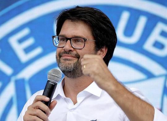 Bellintani celebra primeiro grande título da gestão e dedica conquista a Jotinha   Felipe Oliveira   EC Bahia