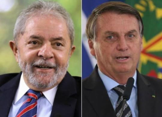 Pesquisas sinalizam que 2022 vem aí com Lula e Bolsonaro na ponta   Ricardo Stuckert   Instituto Lula e Fábio Rodrigues Pozzebom   Agência Brasil