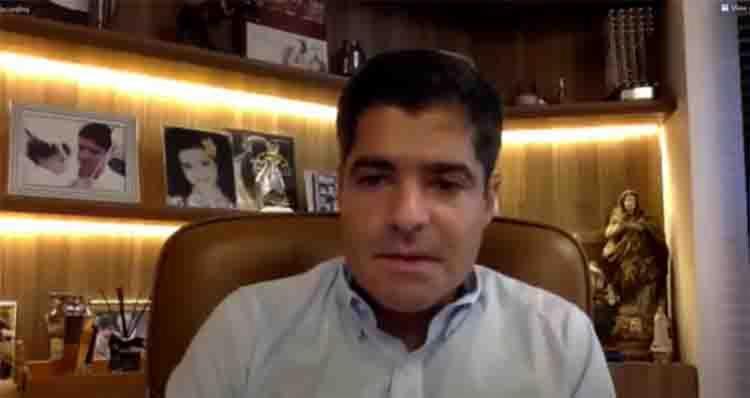Presidente do Democratas reúne imprensa em Salvador para apresentar planos - Foto: Reprodução