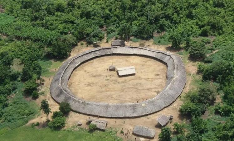 Aldeia Yanomami tem sido alvo de garimpeiros ilegais em Roraima - Foto: Reprodução | Hutukara Associação Yanomami