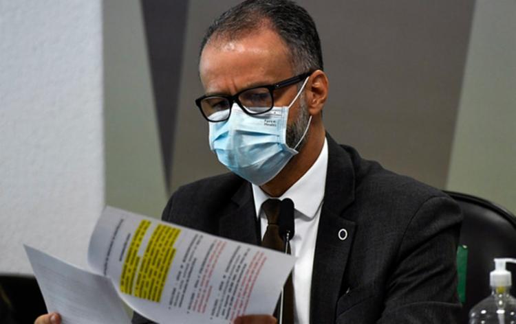 Antonio Barra Torres prestou depoimento à CPI da Covid / Foto: Pedro França | Agência Senado - Foto: Foto: Pedro França | Agência Senado
