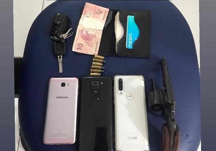 Revólveres, pistola e espingarda foram apreendidos - Foto: Divulgação | SSP-BA