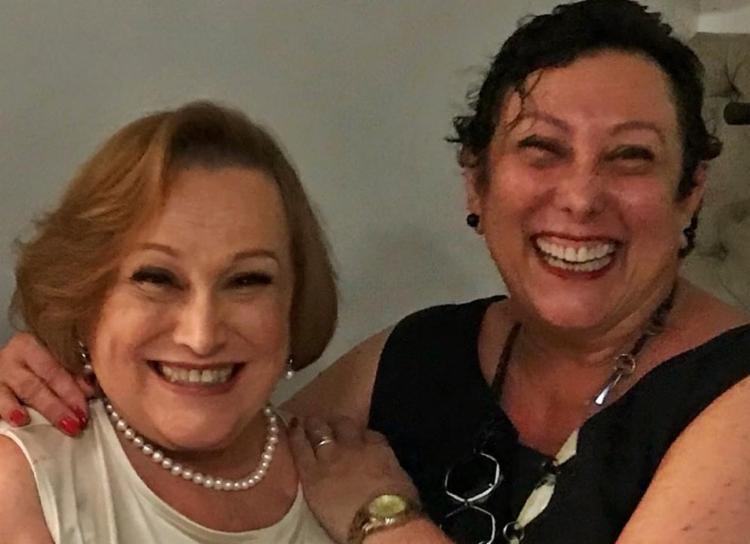 Atriz (direita) perdeu a mãe, Nicette Bruno para o coronavírus em dezembro do ano passado | Foto: Reprodução | Instagram - Foto: Reprodução | Instagram