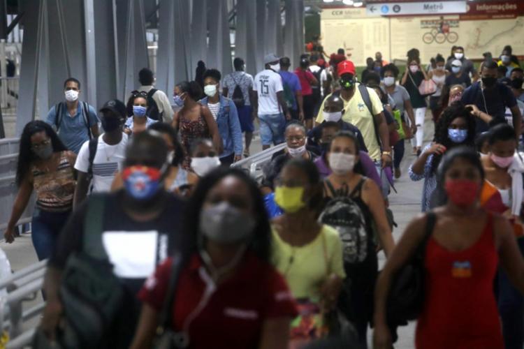 A taxa de letalidade da Covid-19 no território baiano corresponde a 2,15%   Foto: Felipe Iruatã   Ag. A TARDE - Foto: Felipe Iruatã   Ag. A TARDE