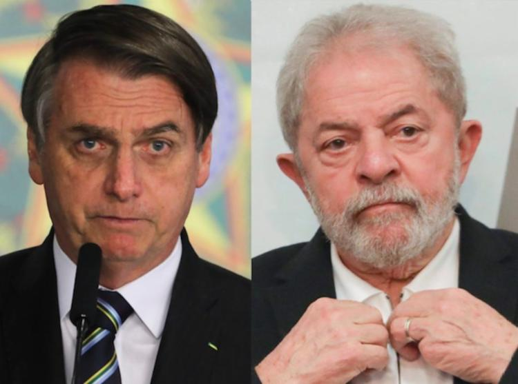 Bolsonaro e Lula puxam fortalecem as canddaturas de João Roma e Wagner na Bahia - Foto: Reprodução
