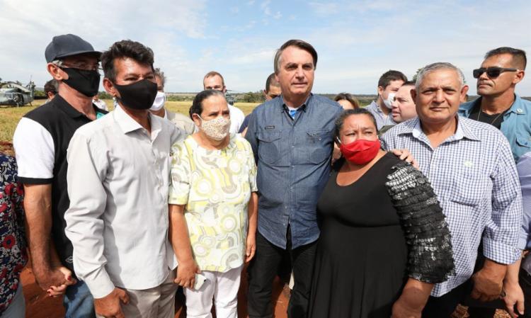 Presidente elogiou o trabalho dos agricultores durante a pandemia I Marcos Corrêa I Agência Brasil - Foto: PR