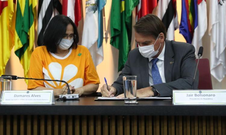 Decreto institui Programa Nacional de Enfrentamento da Violência   Foto: Isac Nóbrega   PR - Foto: Isac Nóbrega   PR