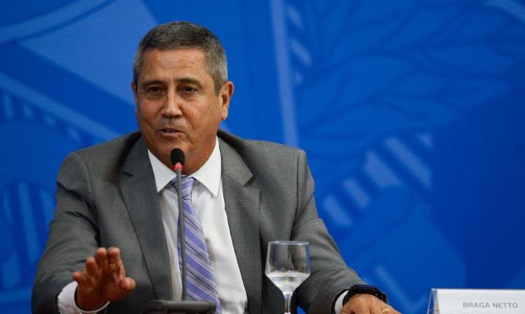 Declaração teria sido enviada para o presidente da Câmara, Arthur Lira (PP-AL), em carta assinada por Braga Netto - Foto: Agência Brasil