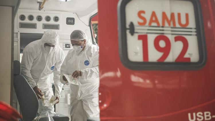 Nas últimas 24h, foram registrados 790 mortes e quase 37,5 mil casos   Foto: Andréa Rêgo Barros   PCR - Foto: Andréa Rêgo Barros   PCR