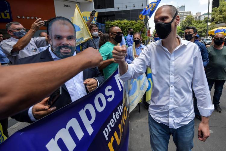 Neto de Mário Covas, Bruno já tinha uma longa carreira política - Foto: NELSON ALMEIDA / AFP