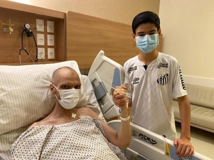 Covas está internado desde o dia 2 de maio no Hospital Sírio-Libanês para tratamento do câncer no sistema digestivo. Foto: Reprodução   Instagram - Foto: Arquivo Pessoal