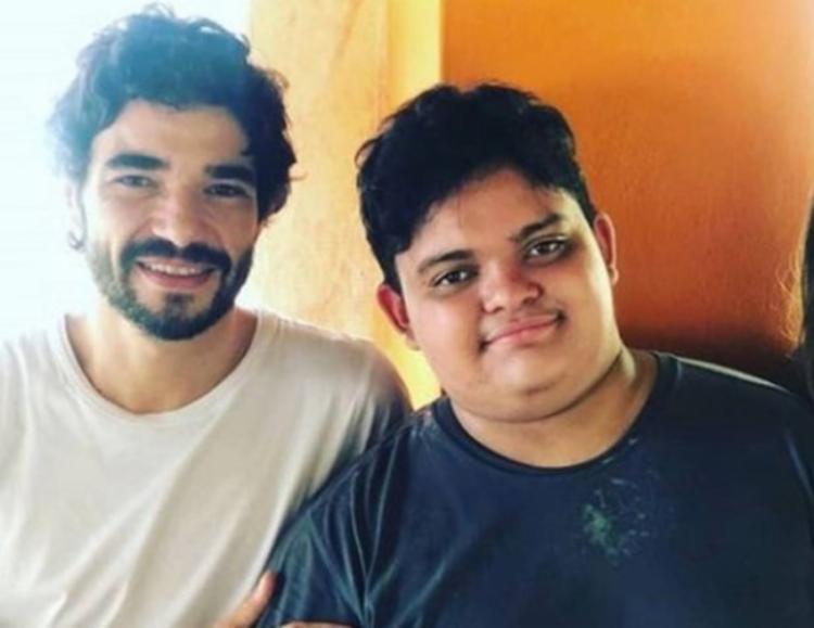 Antonio é fruto do relacionamento do ator com a cantora Ana Ariel | Foto: Reprodução | Instagram - Foto: Reprodução | Instagram