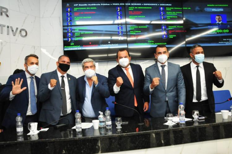 Vereadores de Salvador e Camaçari disctem frente de de combate à revogação do Regime Especial da Indústria Química - Foto: Divulgação