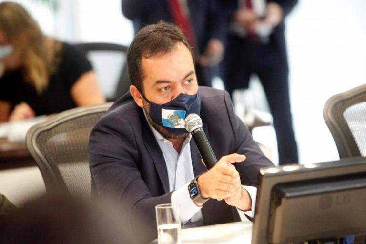 Castro disse que vai enfrentar a Covid-19 e trabalhar pela geração de empregos - Foto: Reprodução   Twitter