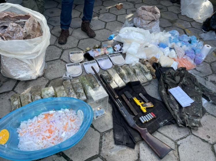 Um dos suspeitos morreu em confronto com a polícia - Foto: Divulgação | SSP-BA