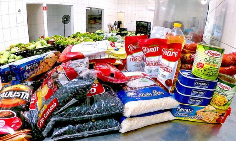 Intuito da campanha é é realizar a a arrecadação de cestas básicas   Foto: Divulgação   Prefeitura de Itanhaém - Foto: Divulgação   Prefeitura de Itanhaém