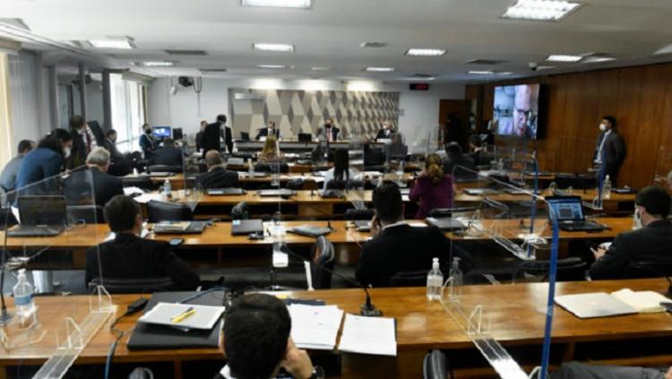 CPI da Covid no Senado - Foto: Jefferson Rudy I Agência Brasil