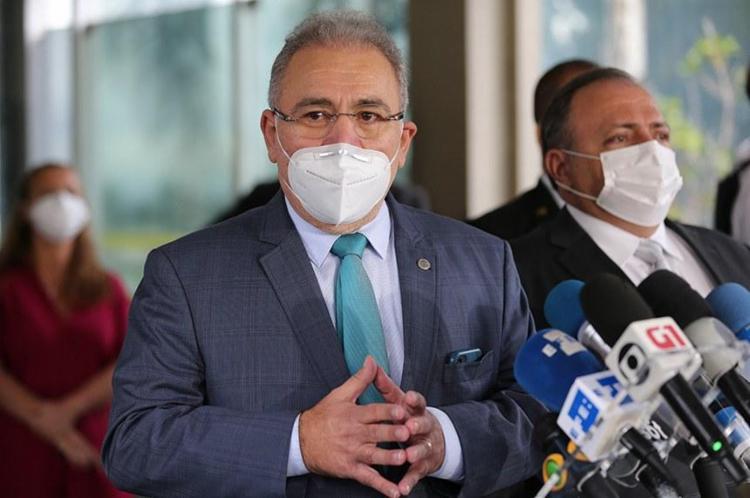 Ministro disse aguardar estudo sobre uso de máscaras   Foto: Marcello Casal Jr   Agência Brasil - Foto: Marcello Casal Jr   Agência Brasil