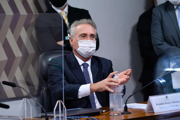 Renan afirmou que o julgamento da história é implacável   Foto: Edilson Rodrigues/Ag. Senado - Foto: Foto: Edilson Rodrigues/Agência Senado